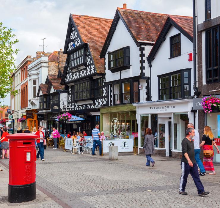 Taunton Town Centre Shopping